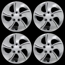 "4 New 06-15 Honda Civic 15"" Bolt on Hub Caps Full Wheel Covers fit Steel Wheels"