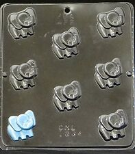 Baby Elephant Bite Size Chocolate Candy Mold 1334 Baby Shower Favor/Cupcake NEW