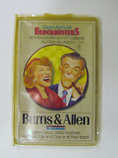 BURNS & ALLEN Golden Age Radio Blockbusters, Cassette Vintage
