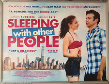 Cinema Poster: SLEEPING WITH OTHER PEOPLE 2016 (Quad) Jason Sudeikis Alison Brie