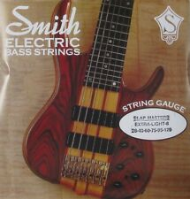 KEN SMITH SMXL-6 SLAP MASTER STEEL BASS STRINGS, EXTRA LIGHT 6's - 28-120