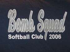 """Bomb Squad -2006 Softball "" Baseball Shirt  Long Sleeve"