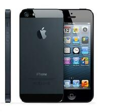 NEW UNLOCKED APPLE iPHONE 5 32GB IOS9 (BLACK) MULTITOUCH WITH + FREE GIFTS