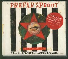 PREFAB SPROUT All The World Loves Lovers 4 TRACK CD EP in double play case
