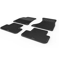 Audi A4 S4 Allroad Rs4  B8 B8.5 Rubber Weather Floor Mats  09 10 11 12 13 14 15
