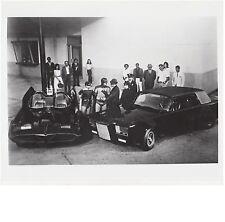1967 TV Series BATMAN GREEN HORNET  8x10 glossy photo. Batmobile Black Beauty