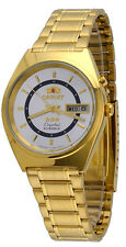 Orient FEM0801JW Men's 3 Star Standard Gold Tone Silver Dial Automatic Watch