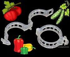 250 JUMBO/XL Tomato Clips - Supports/Connects Plants/Vines Trellis/Twine/Cages
