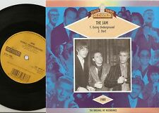 THE JAM GOING UNDERGROUND & START OLD GOLD 45+PS 1989 MOD REVIVAL WELLER TSC WHO