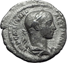 Severus Alexander 226AD Silver Authentic Ancient Roman Coin PAX Peace i60388