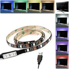 90cm RGB USB LED Strip Light Lighting For TV LCD PC HDTV Background Decor