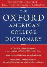 Oxford American College Dictionary, Oxford University Press, 0399144153, Book, G