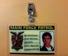 Road Warrior Mad Max Id Badge - Max Rockstansky