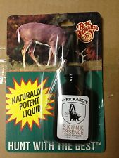 1 RICKARDS 100% GENUINE SKUNK COVER SCENT POTENT LIQUID