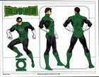DC PRINT - GREEN LANTERN MODEL SHEET