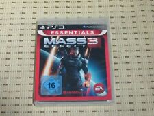Mass Effect 3 para PlayStation 3 ps3 PS 3 * embalaje original * e