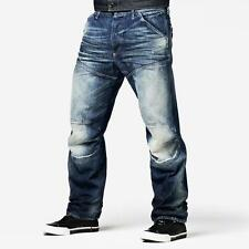 NEW - NWT - RRP $369- Mens Stunning G-Star Raw '5620 3D LOOSE' Medium Aged Jeans