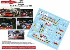 DÉCALS 1/24 réf 1275 BMW M3 Rouillard  Finale Tournus/Cevennes 1998