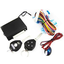 New Burglar Alarm Keyless Entry Security System For Toyota Car Vehicle + 2Remote