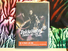 DVD neuf sous blister : TOKIO HOTEL - Concert ZIMMER 483-LIVE IN EUROPE - 2 DVD