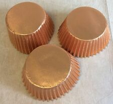 *NEW COLOUR* Saver Price 200 x LIGHT BRONZE Foil muffin / cup cake cases