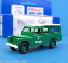 Roco H0 1738 LAND ROVER POLIZEI Geländewagen HO 1:87 OVP Landrover