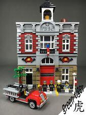 C111 Custom brick set for Lego 10197 Fire Brigade Free - shipping