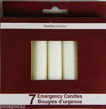 EMERGENCY stick CANDLES 7 pack Survival Hunting Fishing Camping utility light