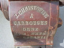 Moulin à café de comptoir J Christophe à Carrouges Orne 1858 Mention Honorable