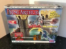 Legends of King Arthur MEGA BLOKS Battle Action Bridge Set 96118 w MicroMotion