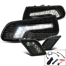 2008-2011 Mercedes-Benz W204 C-Class SMD LED Fog Lights+Smoke LED Bumper Lights