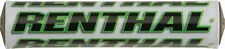 Renthal - P269 - SX Crossbar Pad, 8.5in. - White/Green~