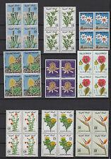 fleurs 1960/70 Royaume du Maroc 36 timbres neufs /T573