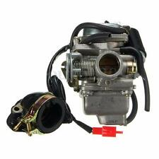 24mm Carburetor Carb For GY6 150cc Intake Manifold Moped Scooter Quad Go Kart