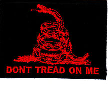 """DON'T TREAD ON ME""-Rattlesnake, Symbol, History, Freedom,Gadsden- Iron On Patch"