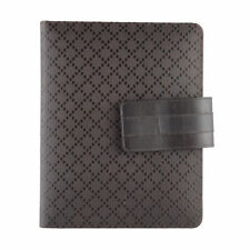 """Gucci Chocolate Brown """"Hilary Lux Diamante"""" Leather Case For Ipad"""