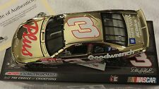 1/24 ACTION GOLD CHROME, #3, GOODWRENCH, DAYTONA 500 WINNER, DALE EARNHARDT