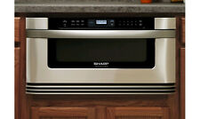"""Sharp KB6524PS 24"""" Built-in Microwave Drawer  1.2 cu. ft. Capacity"""