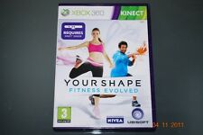 Your Shape: Fitness Evolved Xbox 360 Kinect UK PAL **FREE UK POSTAGE!!**