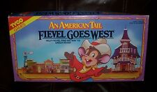 VINTAGE 1991 TYCO FIEVEL GOES WEST AN AMERICAN TAIL KIDS BOARD GAME TOY