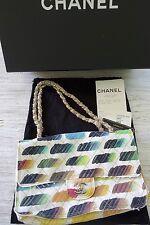 CHANEL - schönste Tasche bunt gemustert Flapbag multicolor, NEU!