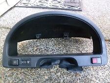 90-91 OEM Honda Crx Blue  Ef  Instrument Cluster Gauge Bezel Trim Cover Visor