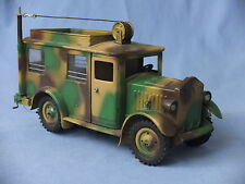 Elastolin HAUSSER No. 745 Leichte Funkstelle (Funkwagen) - Military Radio Truck