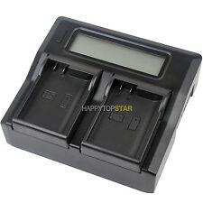 LCD Fast Quick Dual Charger for Nikon EN-EL15 D810 D800 D750 D7100 D7200 MH-25