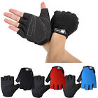 Outdoor Racing Cycling Bike Bicycle Gel Antiskid Sports Half Finger Gloves L-XL