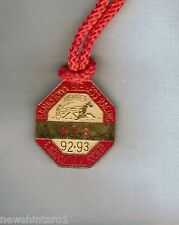 #D231. BANKSTOWN  HARNESS RACING  & AGRICULURAL SOCIETY  BADGE 1992-93 #478