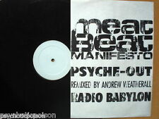 "MEAT BEAT MANIFESTO – PSYCHE-OUT  12""   Play It Again  BIAS 182R PROMO TESTPRESS"