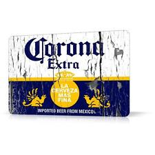METAL TIN SIGN CORONA BEER LOGO RUSTED Decor Home Bar Pub Garage Wall Poster