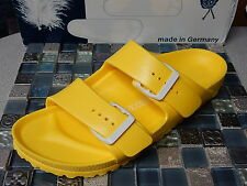 BIRKENSTOCK  ARIZONA  Yellow  SANDALS  WOMEN 7 N   EURO 38    NEW