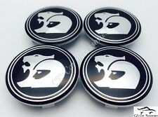 HSV Wheel Centre Caps Holden Commodore Black VT VX VY VZ VE VF R8 Set of 4
